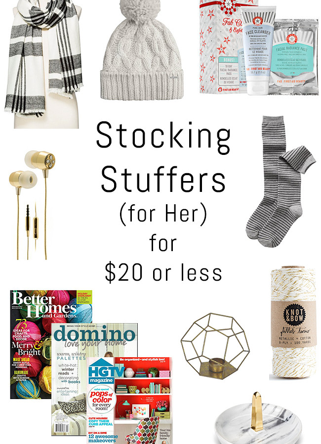 Holiday Gift Guide: Stocking Stuffers for $20 or Less