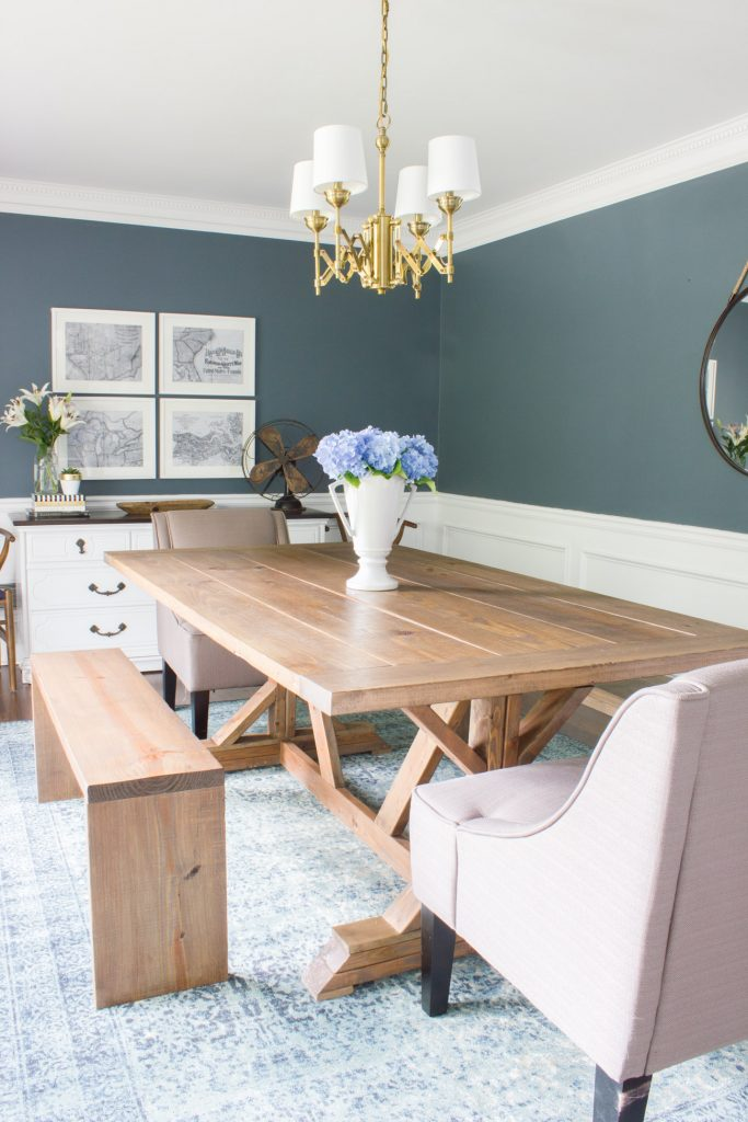 Summer dining room refresh: (& Seasonal Simplicity Blog Tour)