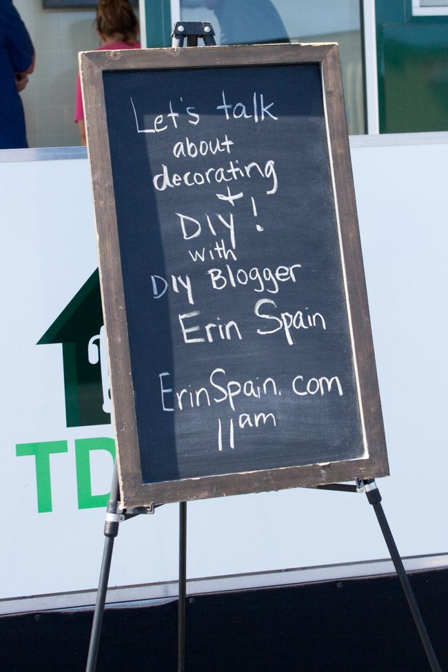 Find out about the TD Bank Rolling Renovation Home Tour! Plus hear 3 DIY tips from blogger Erin Spain.