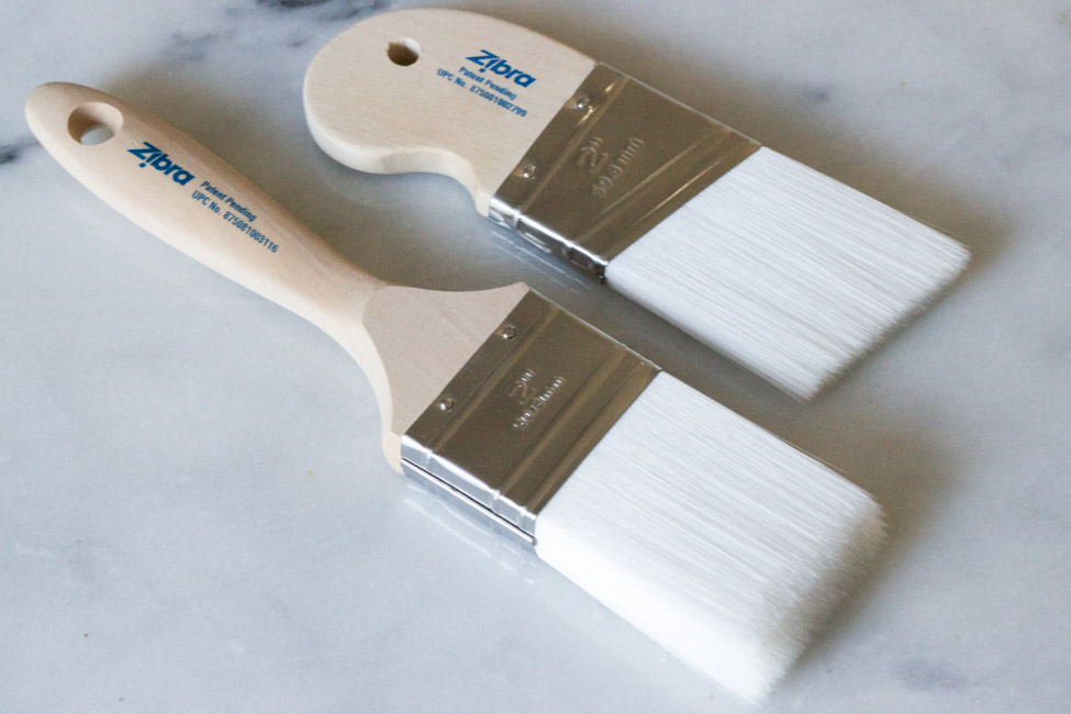Zibra paintbrushes: The best paintbrushes for a smooth finish.