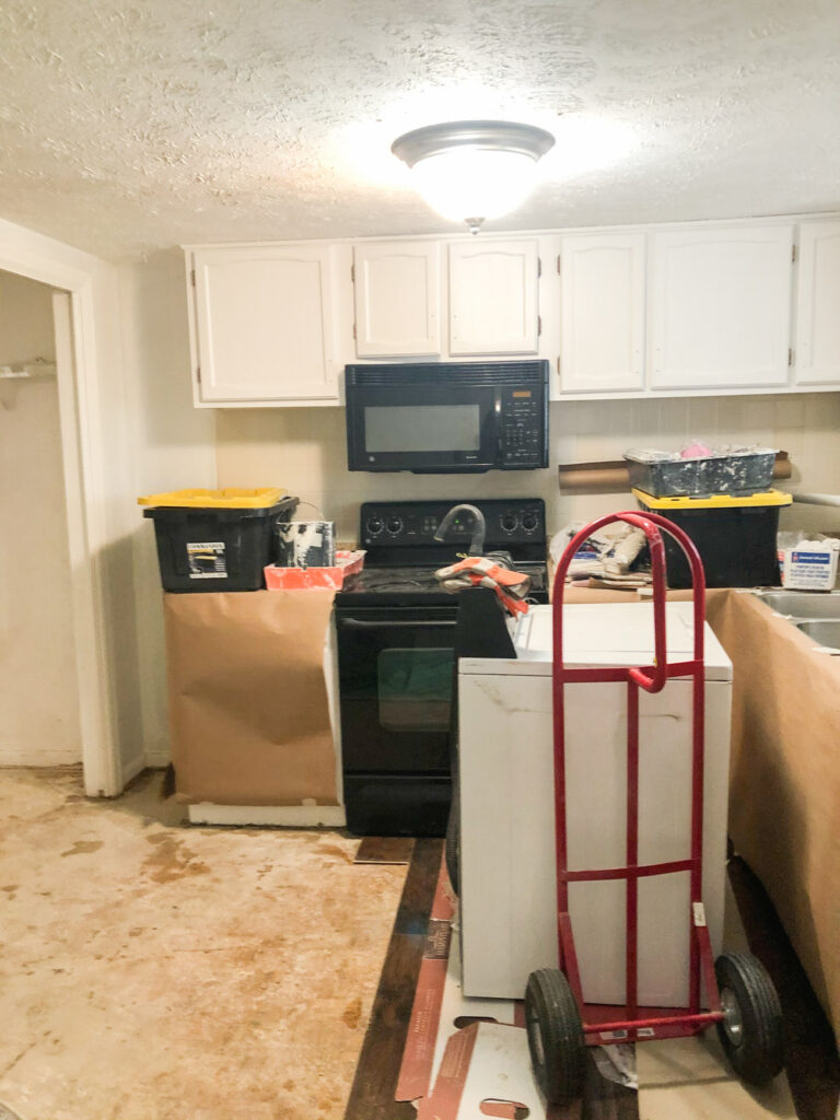 Townhouse renovation progress