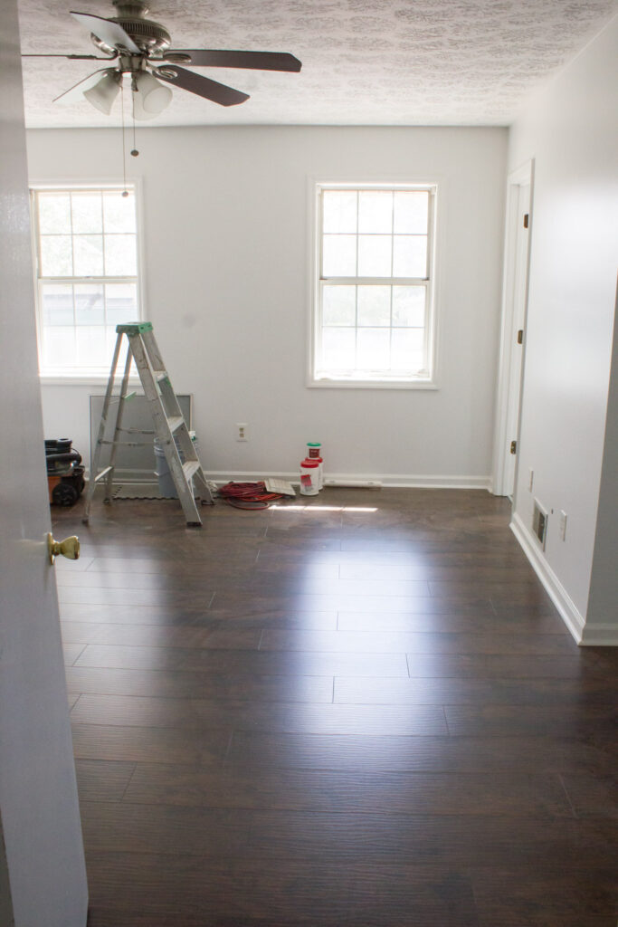 Townhouse renovation progress