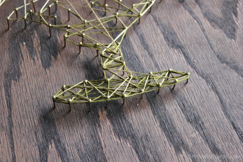 DIY Tree String Art Tutorial