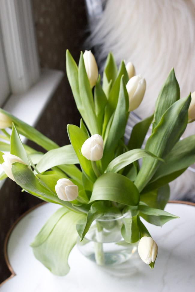 Closet Makeover: Tulips