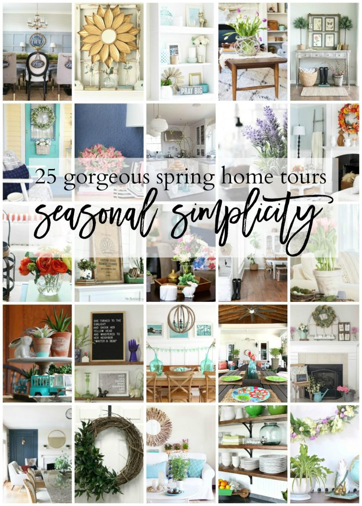 Check out this gorgeous spring home tour blog hop!