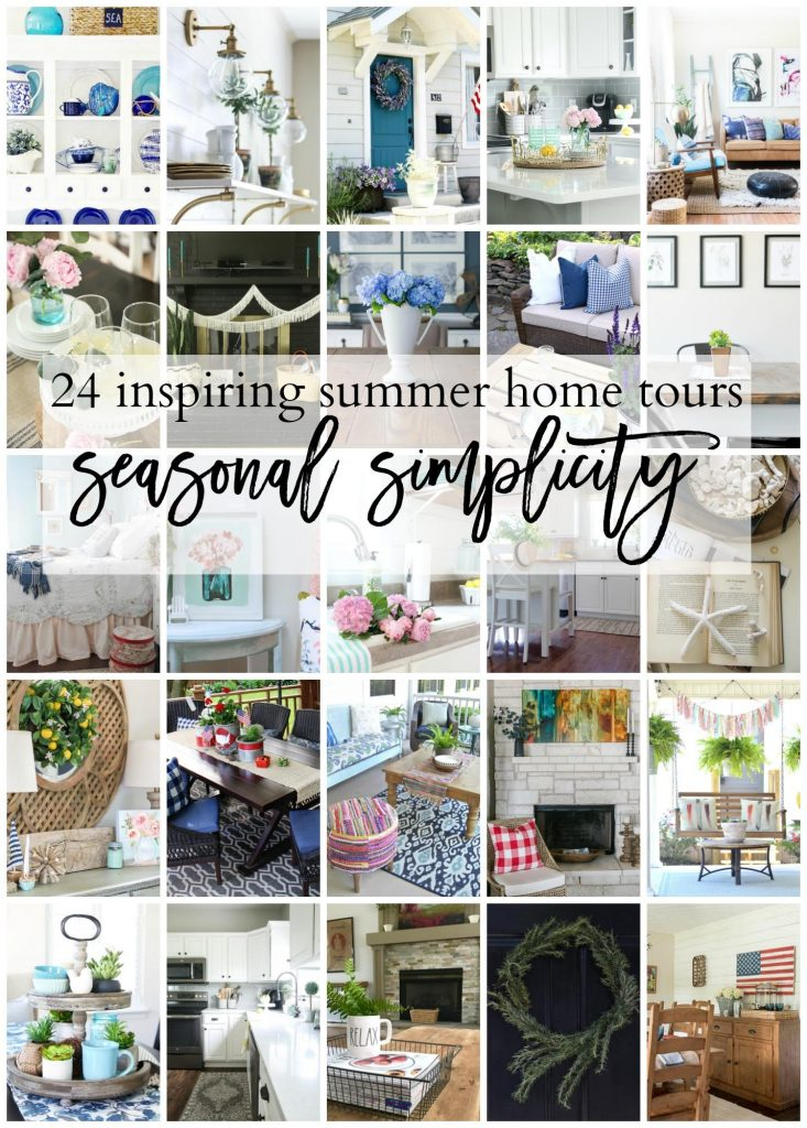 Check out these 24 Inspiring Summer Home Tours!