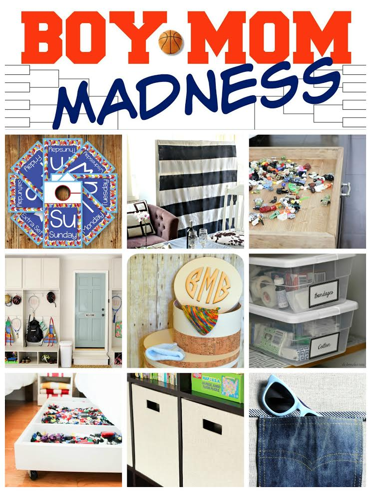 Boy Mom Madness Series: Staying Organized
