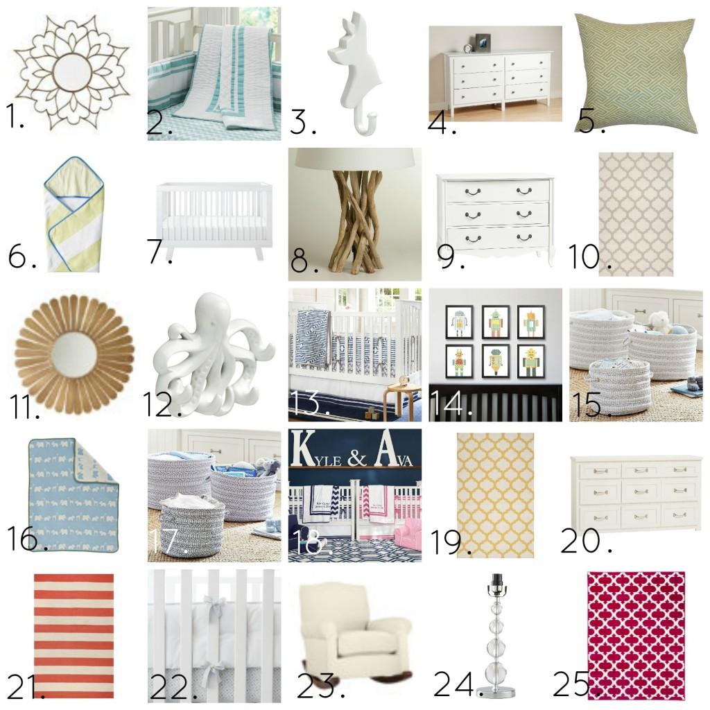 Virtual Shopping: Nursery Edition (Cute nursery decor and accessories!)