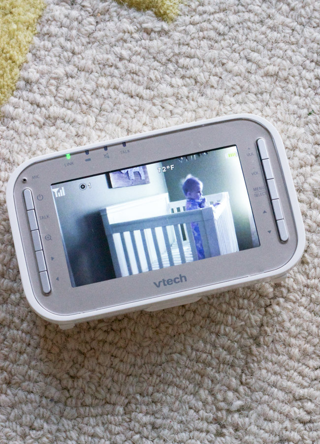 Capturing Sweet Moments with the VTech VM343 Video Baby Monitor