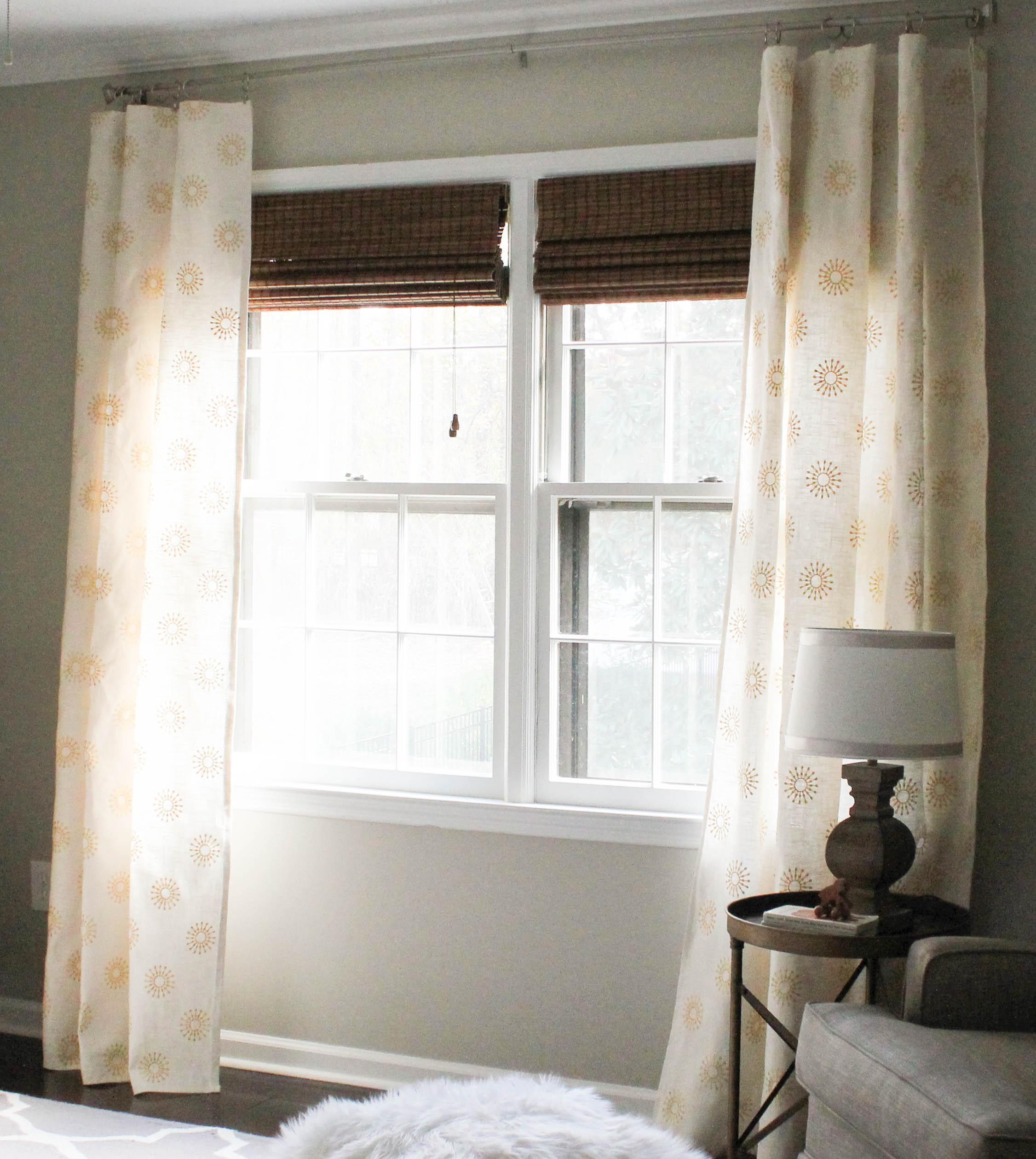 DIY Window Curtains Aka Facing My Sewing Machine Fears