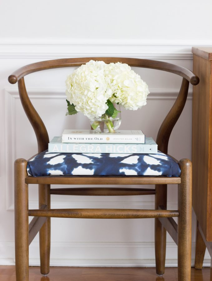 Navy & Indigo Family Room Makeover Reveal