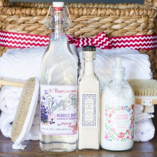 Holiday Gift Giving: Put together the perfect spa gift basket with items from Cost Plus World Market!